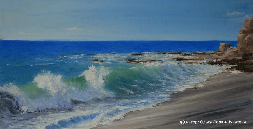 la mer by Olga Loran-Chuvatova